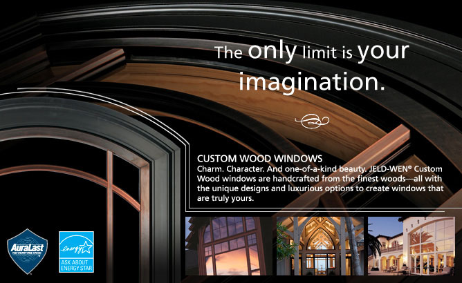 JELDWENcustomwood windows